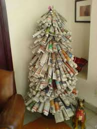 Recycled Materials, Carbon Footprint, Celebrating Christmas, Footprints,  Recycling, Christmas Trees