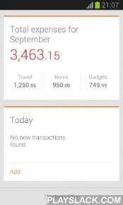 Personal Expense Tracking Depoza Expense Tracker Android App Playslack Com Depoza An