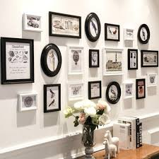 black and white picture frame collage black and white frame wall art white wall photo