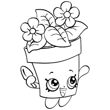 Shopkins Season 4 Coloring Pages Getcoloringpagescom