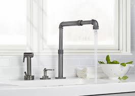 Sinks Faucets Industrial Style Faucets By Watermark To Give Your