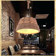 fantastic rope pendant light fashion style lights industrial fitting