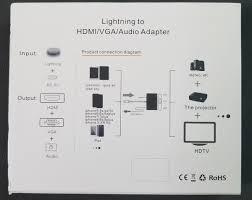 Cáp chuyển tín hiệu cho iPhone, iPad ra tivi HDMI, VGA có âm thanh FullHD  1080p - Cáp lightning to HDMI, VGA - Cáp HDMI - Displayport Thương hiệu OEM