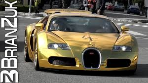 There are currently 28 bugatti cars as well as thousands of other iconic classic and collectors cars for sale on despite its italian owner, bugatti was a company based in france. Gold Bugatti Veyron Youtube