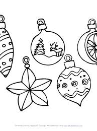 You've come to the right place! Christmas Ornaments Coloring Page All Kids Network