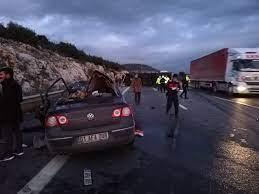 Mersin'de korkunç kaza: 5 ölü, 1 ağır yaralı - Son dakika haberleri