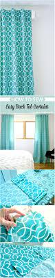 Teal Bedroom Curtains Diy Back Tab Curtain Tutorial Dans Le Lakehouse