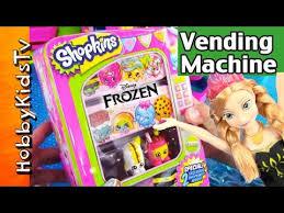 Shopkins Vending Machine Custom Shopkins Vending Machine Anna Buys Storage Tin HobbyKid Fills With