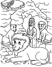 Small Picture King Darius Put Daniel into Lions Den in Daniel and the Lions Den