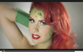 how to create a poison ivy makeup look for poison ivy poison ivy makeup and poisons