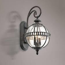 outdoor bronze wall lantern