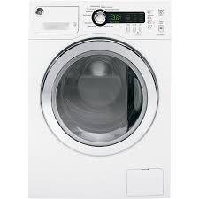 GE 2.2-cu ft High Efficiency Stackable Front-Load Washer (White) ENERGY