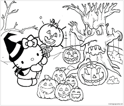 Free, printable hello kitty coloring pages, party invitations, activity sheets and paper crafts for hello kitty fans the world over! Hello Kitty Halloween 1 Coloring Pages Cartoons Coloring Pages Free Printable Coloring Pages Online