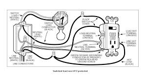 gfci wiring schematic wiring diagram and schematic design gfci receptacle wiring diagram eljac