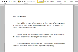9 write a letter of resignation sponsorship letter write a resignation letter step 3 jpg