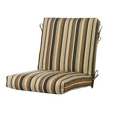 outdoor dining chair cushions. Outdoor Dining Chair Pillows Hton Bay Green Stripe Rapid Dry Deluxe Cushions I
