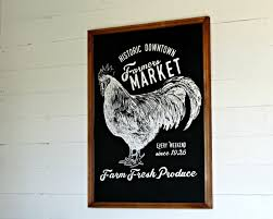 farmhouse style diy home decor farmers market chalkboard knickoftime net