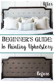 painting fabric furnitureBeginners Guide to Painting Upholstery  Blesser House