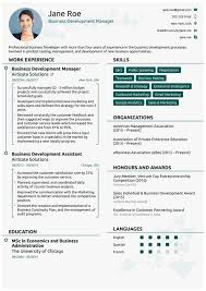 Business Analyst Modern Resume Template 2018 Resume Format