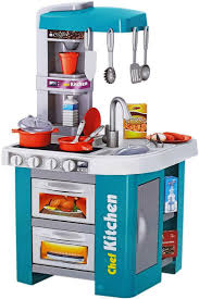 Toy Kitchen With Lights And Sound Talented Chef Kitchen Set Role Play Sink With Running Water