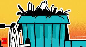 waste garbage an albatross around bengaluru s neck bengaluru news times of india