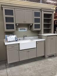 gray martha stewart kitchen cabinets natures art design home depot makeover
