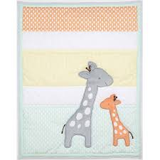 child of mine by carter s giraffe family crib bedding value bundle com