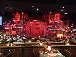 Inside Seating Picture Of Hatfield Mccoy Dinner Show