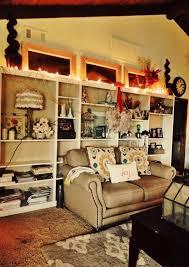 2013 DIY Christmas Bookcase Decors, Christmas Home Decor Ideas #2013  #christmas #bookcase