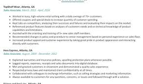 Sample Salesperson Resume Retail Sales Associate Resume Sample Salesperson Resume Sales
