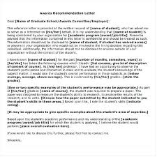 Recommendation Letter For Grad School Graduate School Recommendation Letter Template Caseyroberts Co