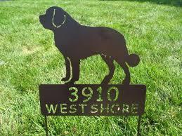 saint bernard personalize pet memorial