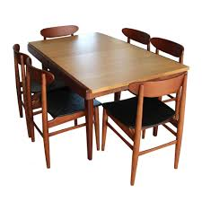 chair superb mid century od teak dining chairs by erik buch for concept of teak dining table