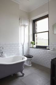 bathroom tiles here the pale grey grout
