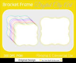 printable bracket frame. Printable Bracket Frame Clip Art (56+)