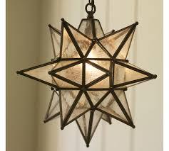 olivia indoor outdoor star pendant pottery barn throughout moravian light design 5