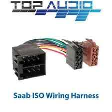 saab 900 gps audio in car technology saab 900 9000 9 3 9 5 iso wiring harness lead cable plug wire adaptor