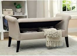 end of bed storage bench. I Need A Much Smaller Version Of This So That My Senior Cats Can Jump On It And Then The Bed. End Bed Storage Bench - Grey : Target
