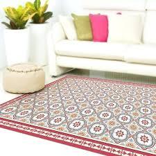 best area rug pad for vinyl floors linoleum doormat with tiles in red and blue vinyl floor area rugs