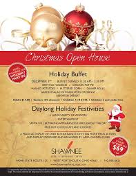 christmas open house flyer christmas open house towncal