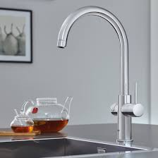 Water Tap Design Grohes Blue Home And Red Taps Provide Instant Boiling Or