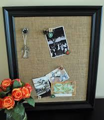 Black Magnetic Memo Board Rustic yet Modern Burlap Magnetic Memo Board with Black Frame by 25