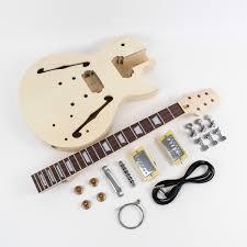 gibson les paul semi hollow diy electric guitar kit