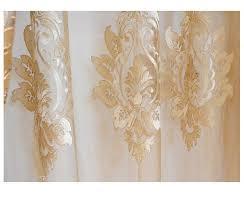 gold damask embroidered rod pocket sheer curtains 96l 39 99 was 90 00