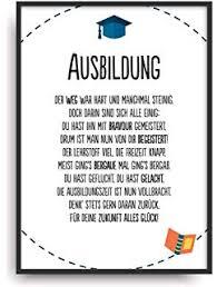 Urkunde Personalisiert Geschenk Karte Zur Bestandenen Ausbildung