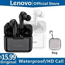 Original <b>Lenovo QT82 Wireless</b> Bluetooth Earphone V5.0 Touch ...