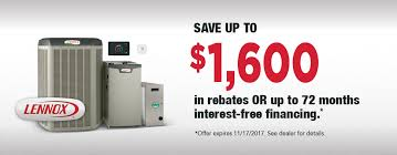lennox ac. current lennox promotion with financing ac