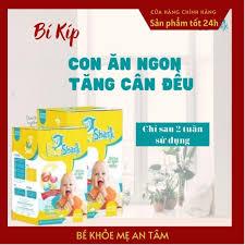Siro Ăn Ngon Ngủ Ngon BABY SHARK Cho Bé 6 Tháng, Giúp Bé Tăng Cân (30 gói -  Tặng Kèm Yếm Ăn Dặm) – Blogreview365