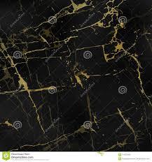 Zwarte Marmeren Texturen Met Goud Vector Illustratie Illustratie