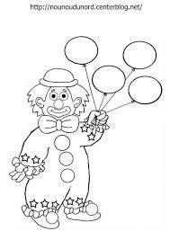 Dessin De Coloriage Clown Imprimer Cp08217